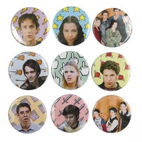 The Pulp Girls — FREAKS AND GEEKS BUTTONS