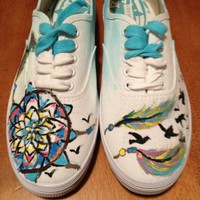 Handed Painted Sneakers