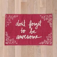 Urban Outfitters - Plum &amp; Bow Don&#x27;t Forget Rug