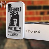 Harry Potter iPhone 4 or 4S Case Undesirable NO 1 by IFNH on Etsy