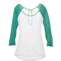 Aerie Colorblock Baseball Tee | Aerie for American Eagle