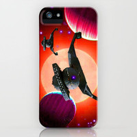 Klingon Battle Crusers iPhone Case by JT Digital Art  | Society6
