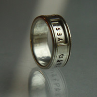 $100.00 NEW PERSONALIZED SPINNING revolver ring Any custom by NOjewelry