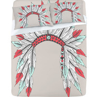 Wesley Bird Dressy Sheet Set