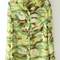 Camo Double Pocket Shirt S010119