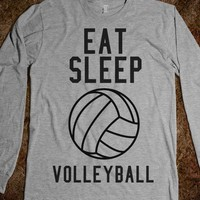 eat sleep volleyball - Volleyball