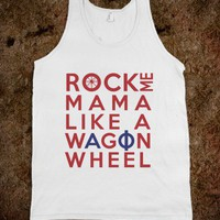 Wagon Wheel - Alpha Phi - Young, Wild, & Greek