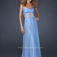 La Femme Dress 17203 at Peaches Boutique