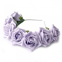 Crown and Glory | Crown and Glory Intergalactic Starlight Crown in Lilac | Spoiled Brat