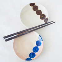 Vintage Japanese Plates Pottery Sushi Appetizer Spots
