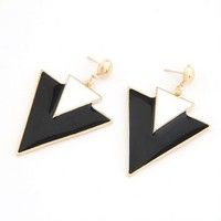 Chic Triangle Earrings