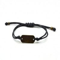 Live Love Laugh Bracelet in Black