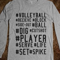 Volleyball Hashtags - Volleyball