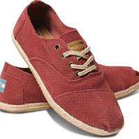 Rose Suede Women&#x27;s Cordones | TOMS.com
