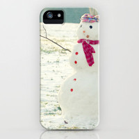 But, Snowmen Can't Talk iPhone Case by RDelean | Society6
