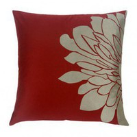 Blissliving Home Gemini Pillow in Red - BL63944