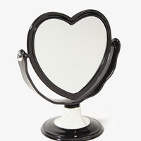 Double-Sided Heart Mirror | FOREVER 21 - 1025100605