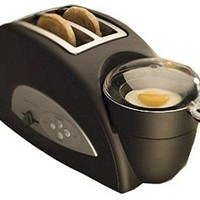 Amazon.com: Back to Basics TEM500 Egg-and-Muffin 2-Slice Toaster and Egg Poacher: Kitchen & Dining