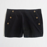 "Factory 4"" nautical stretch chino short"