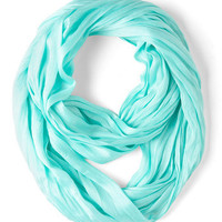 Brighten Up Circle Scarf in Sky