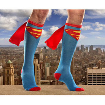 Superhero Caped Socks -