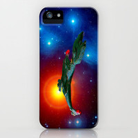 Klingon Vor&#x27;cha-class  attack cruiser iPhone Case by JT Digital Art 