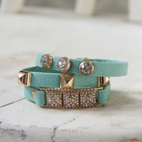 Moon Rise Bracelet in Mint, Women&#x27;s Affordable Accessories