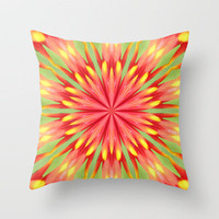 Splendour 5 Throw Pillow by Baggieoldboy