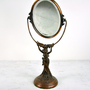 Vintage Art Deco Swivel Vanity Mirror by havenvintage on Etsy