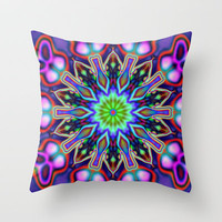 Color symphony Throw Pillow by Baggieoldboy
