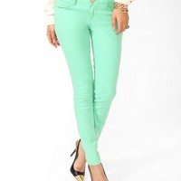 Life In Progress Colored Skinnies | FOREVER 21 - 2031557417