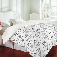DENY Designs Home Accessories | Wesley Bird Diamond Print 2 Duvet Cover