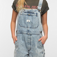 Urban Outfitters - Urban Renewal Acid Wash Overall Romper