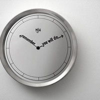 Time to Die: World?s Most Eerily Accurate Clock & Watch Set | Designs & Ideas on Dornob