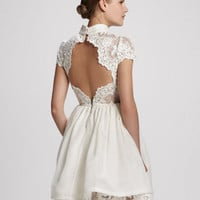 Fyona Lace-Bodice Party Dress