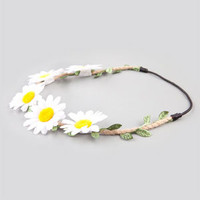 Full Tilt Daisy Headband White One Size For Women 21182915001