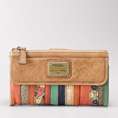 FOSSIL Handbag Silhouettes Wallets:Womens Emory Clutch SL3157