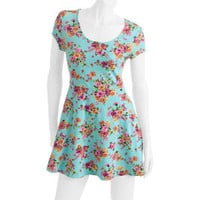 Walmart: No Boundaries Juniors Printed Skater Dress