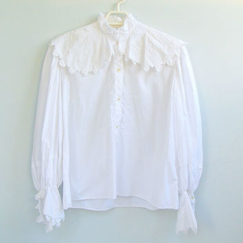 Fancy White Blouses Plus Size - Long Blouse With Pants