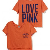 University of Florida Drapey Pocket Tee - PINK - Victoria's Secret