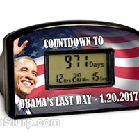 Obama Countdown Timer | Political Gag Gifts | FunSlurp.com