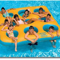 Amazon.com: Labyrinth Floating Island for Swimming Pool & Beach: Sports & Outdoors