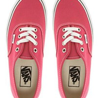 Vans Authentic Rose Trainers at asos.com