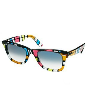 Ray-Ban | Ray-Ban Pattern Square Wayfarer Sunglasses at ASOS