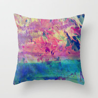 maple leaves Throw Pillow by  Alexia Miles photography