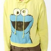 Cookie Monster Pullover Hoodie | FOREVER 21 - 2019571694