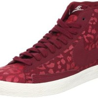 Amazon.com: Nike Wmns Blazer Mid Print Leopard - Team Red (536698-600): Shoes