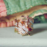 Coldwater Feather Ring, Sweet Country Inspired