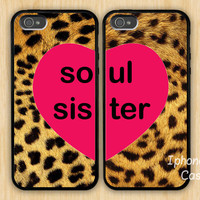 soul sister iPhone 5 Case, Best friends iphone case, case for iphone 5