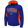 Florida Gators Turf Fleece Pullover Hoodie - Royal Blue/Orange